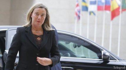"""Могерини подтвердила решимость ЕС помогать странам """"Восточного партнерства"""""""