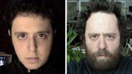Невероятные изменения внешности за 20 лет жизни американского мужчины (Фото, Видео)