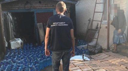 На Харьковщине обнаружили подпольный склад контрафактной продукции