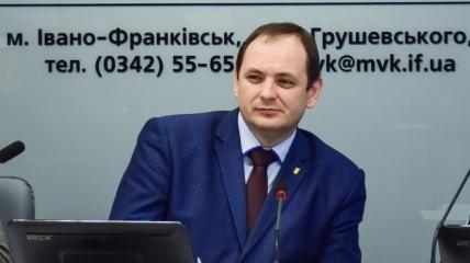 Городской председатель Ивано-Франковска Руслан Марцинкив