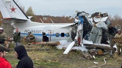 На борту рухнувшего L-410 было 22 человека