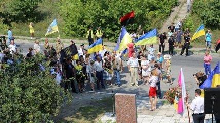 В Лисичанске отметили четвертую годовщину освобождения