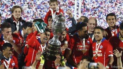 Самые лучшие голы Кубка Америки 2015 (Видео)
