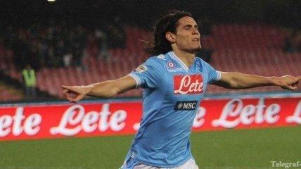 """Отец Кавани заявил, что """"Наполи"""" может продать игрока за €60 млн"""