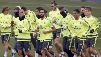 """""""Реал"""" провел первую тренировку в 2016 году"""
