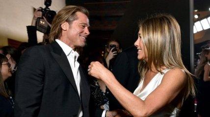 Брэд Питт и Дженнифер Энистон наконец-то снова вместе: счастливые фото