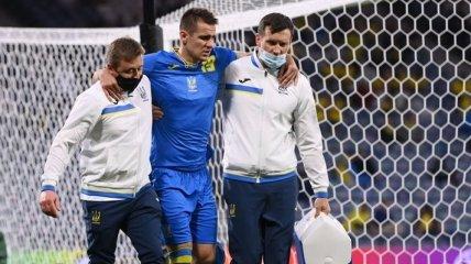 Беседин выбыл надолго: подробности травмы форварда сборной Украины