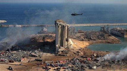 Взрыв в Бейруте: власти объявили ЧП, количество жертв возросло