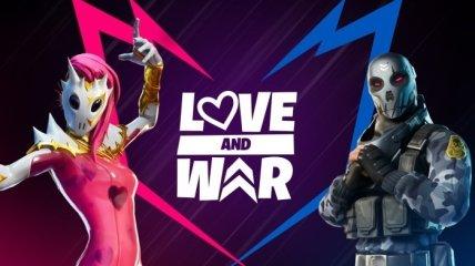 """В Fortnite стартовало событие """"Любовь и Война"""" (Фото и видео)"""