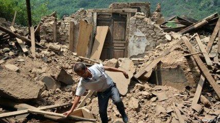 Число погибших от землетрясения в Китае увеличилось до 89 человек