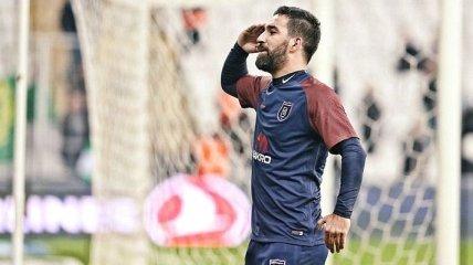 Арда Туран вернулся в чемпионат Турции голом в девятку (Видео)
