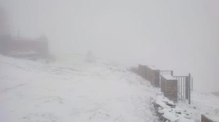 Перший сніг в Україні. Фото: facebook.com/chornogora.rescue112