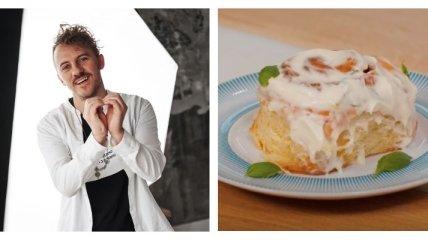 Вкусные булочки с корицей по рецепту Евгения Клопотенко (видео)