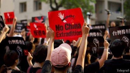 Глава администрации Гонконга извинилась перед участниками акций протеста