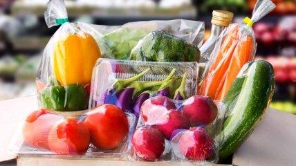 Овощи в пластиковой фасовке будут под запретом.