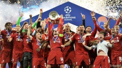 Победитель Лиги чемпионов Ливерпуль заработал 111 млн., Барселона получила больше