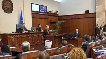 В парламенте Македонии пройдет голосование по переименованию страны