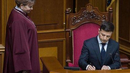 Зеленский рассказал о своем первом президентском указе