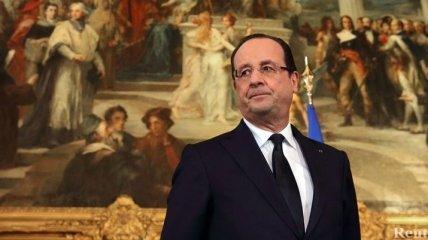 Франсуа Олланд назвал главный приоритет на будущий год