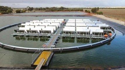 В Австралии запускают первую плавучую электростанцию