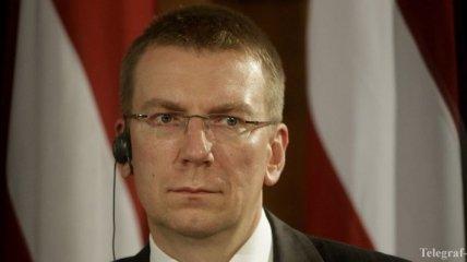 Глава МИД Латвии посетит Киев и Москву