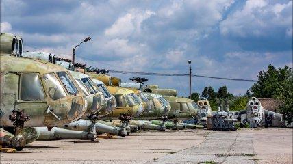 Ремоторизация вертолетов в Украине (Фото)