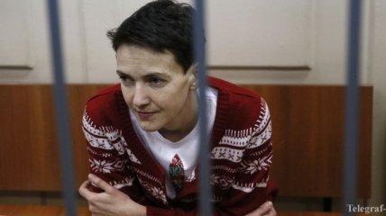 ФСИН РФ: Савченко не ест три дня