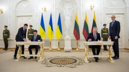 Литва и Украина подписали важную декларацию на 5 лет: о чем она