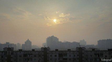 Концентрации вредных веществ в воздухе в Киеве не превышают норму