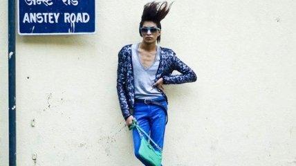 Уличная мода: своеобразный уличный стиль индийских модников (Фото)