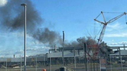 В Калифорнии загорелся завод Tesla: подробности (видео)