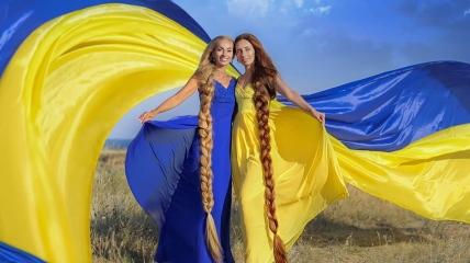 Снимок ко Дню государственного флага Украины. Фото: Инна Симанович