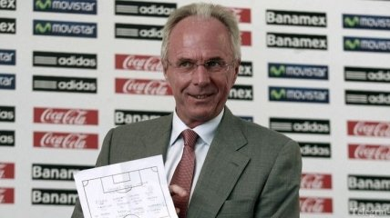 Свен-Йоран Эрикссон готов возглавить сборную Украины