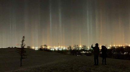 Жители Канады смогли пронаблюдать в небе редкое явление