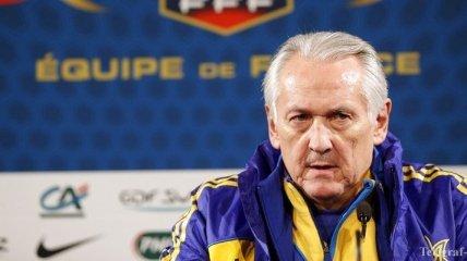 Фоменко не покинет пост тренера сборной Украины из-за Конькова