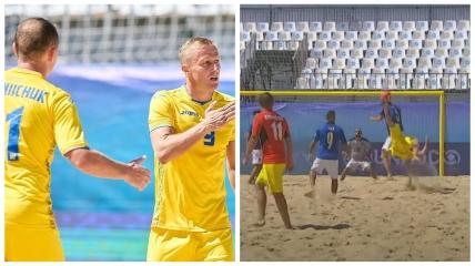 Олег Зборовский забил красивый гол в ворота Италии