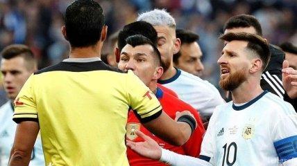 Аргентина - Чили: лучшие моменты матча за третье место на Кубке Америки (Фото)