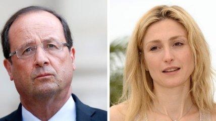 Любовница Франсуа Олланда беременна?