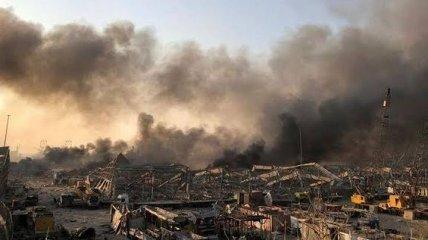 Украинка из Ливана рассказала о ситуации в районе взрыва