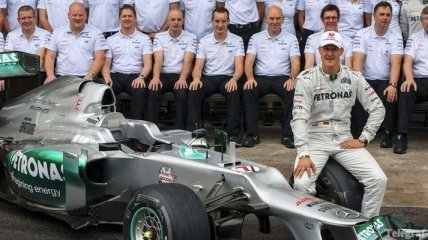 Легенды Формулы-1. Возвращение Шумахера в Королевские гонки (Видео)
