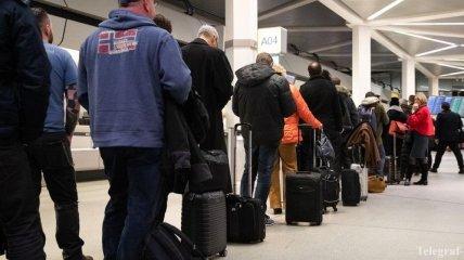 Два аэропорта в Германии фактически парализованы из-за забастовки