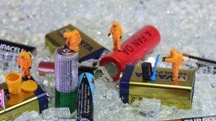 С меньшим ущербом для окружающей среды: создан метод быстрой переработки батарей