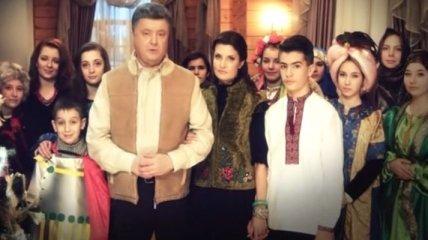 Рождественское поздравление Президента Украины (Видео)