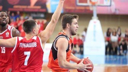 Баскетболист Прометея - игрок месяца в Суперлиге