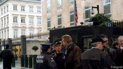 Бельгийская полиция подозревает теракт возле здания посольства США