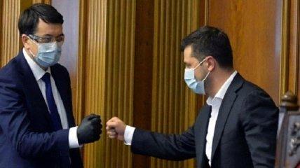 """Разумков заключил """"мир"""" с Зеленским? О чем говорят последние события вокруг ОП и Верховной Рады"""