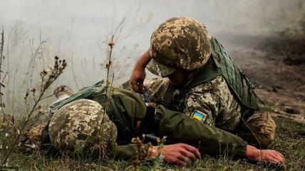 На Донбассе ранение получил военнослужащий ВСУ