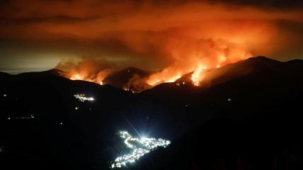Пожар в Коста-дель-Соль
