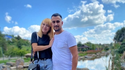 Артур Ерохин и его жена Вероника