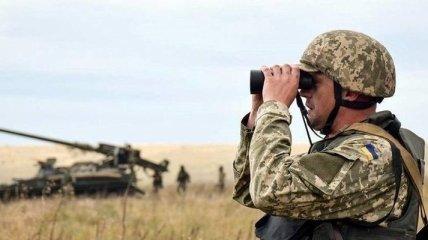 На Донбассе украинские военные сбили беспилотник боевиков